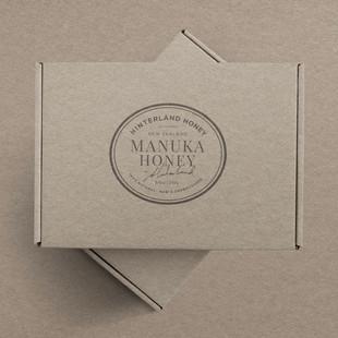 Hinterland manuka honey packaging