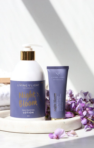 Packaging design for Living Light Candles