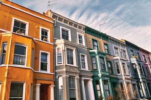 Colourful Portobello townhouse London