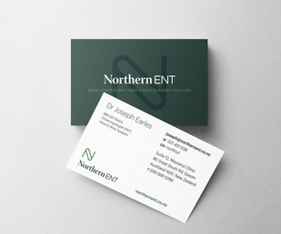 Northern ENT business cards