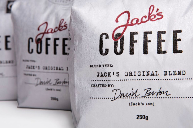 Jack's packaging design