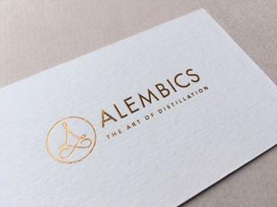Alembics business card