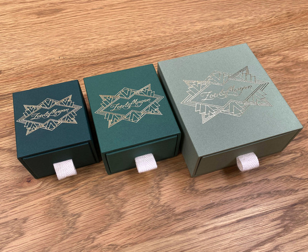 Zoe & Morgan jewellery boxes