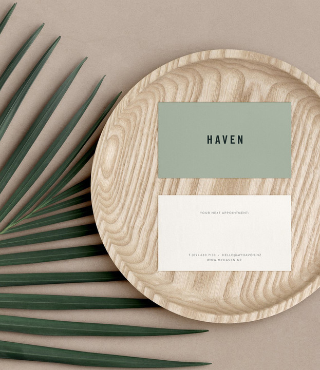 Haven business cards