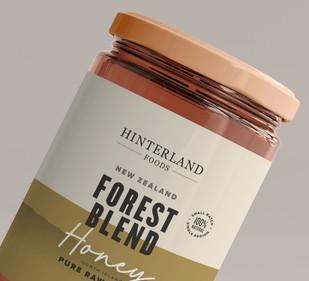 Hinterland honey packaging