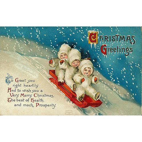 Christmas Card - Christmas Greetings
