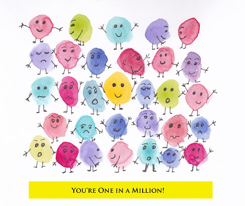 Greeting Card - You're One in a Million