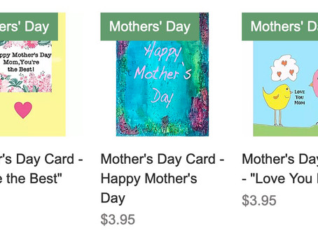 Unique Mother's Day Cards and Gifts