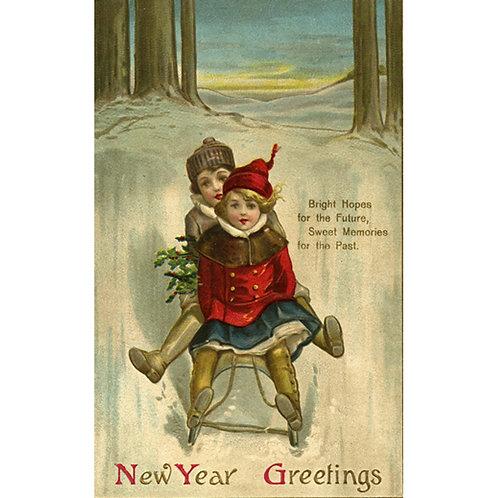 New Year Card - Bright Hopes