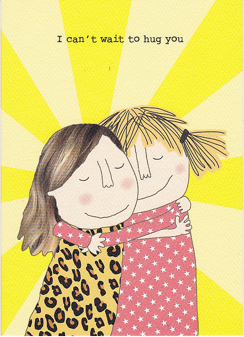 Friendship Card - Can't Wait to Hug You
