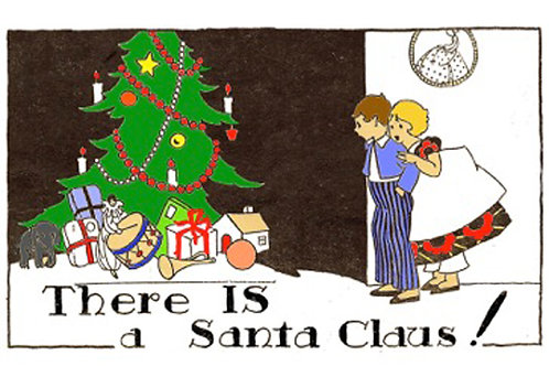 Christmas Card - There IS a Santa Claus