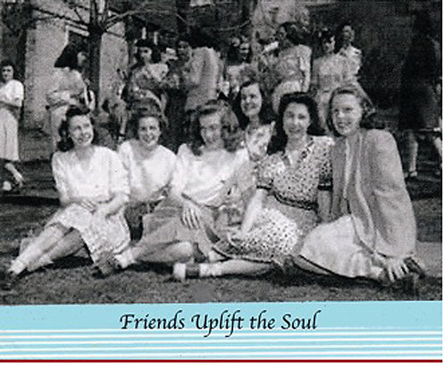 Greeting Card - Friends Uplift the Soul