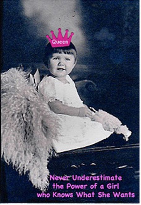 Greeting Card - Never Underestimate a Girl