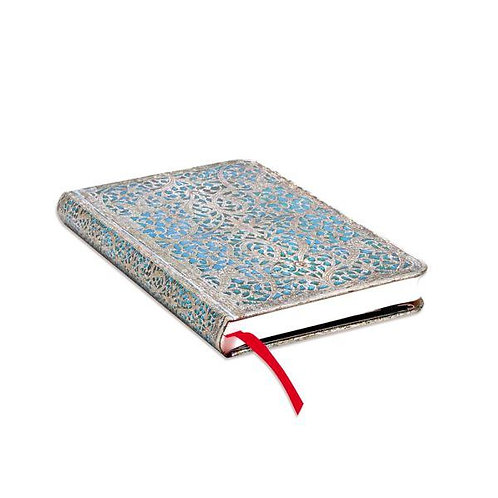 Maya Blue Classic Mini Journal - Paperblanks