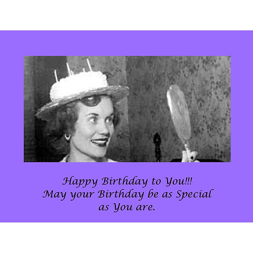Birthday Card - Special as You Birthday