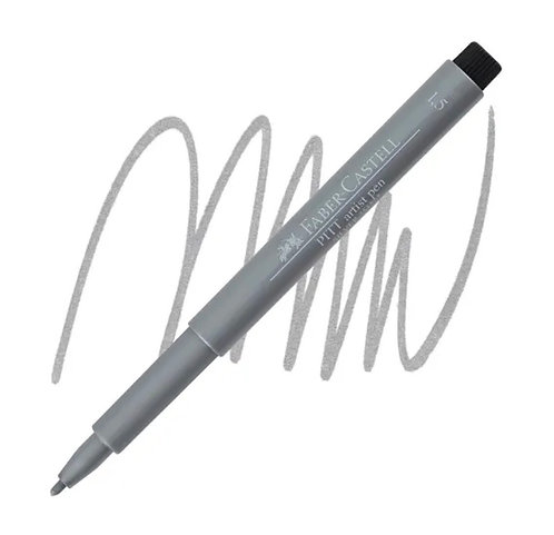 Faber-Castell Pitt Artist Pen® Metallic Silver