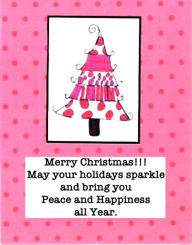 Holiday Sparkle Card