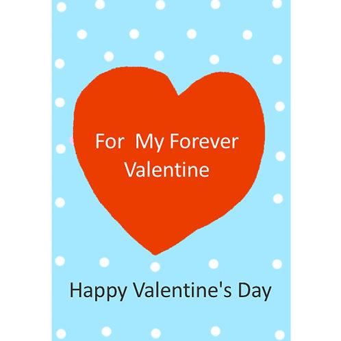 Valentine Card - Forever Valentine