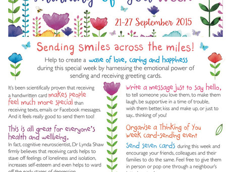 Thinking of You Week - Sept 21-27
