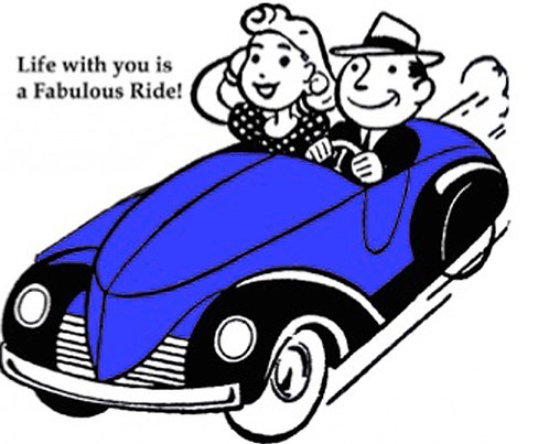 Greeting Card - Life With You is a Fabulous Ride