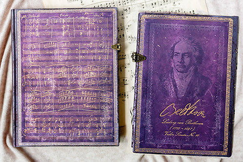 Beethoven's 250th Birthday Ultra Music Journal - Paperblanks
