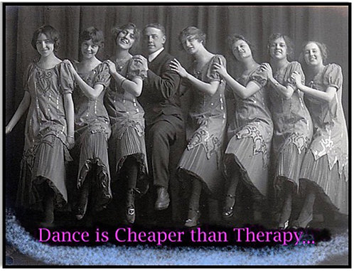 Greeting Card - Dance is Cheaper than Therapy