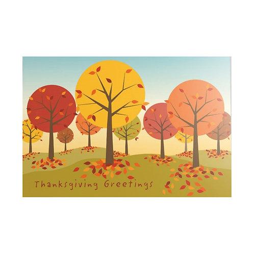 Thanksgiving Card - Thanksgiving Greetings
