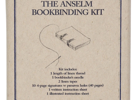 Anselm Bookbinding Journal Do It Yourself DIY Kit