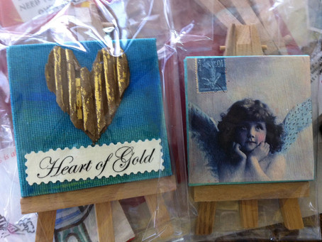 Miniature Paintings by Susan ... now at Cottage Crafts Boutique
