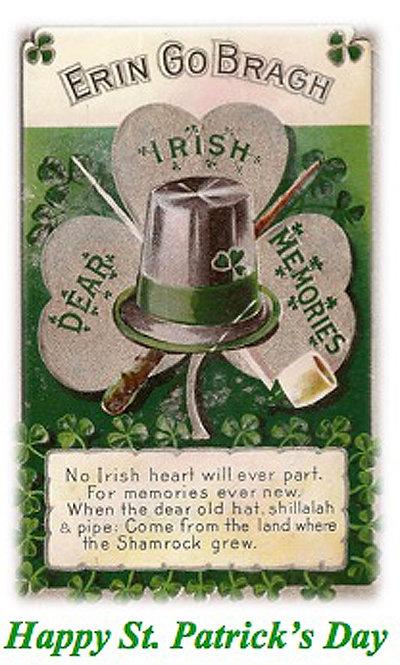 Greeting Card - St. Pat's Erin Go Bragh