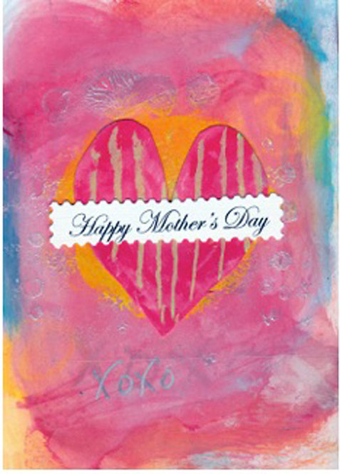 Mother's Day Greeting Card - Mother's Day Heart