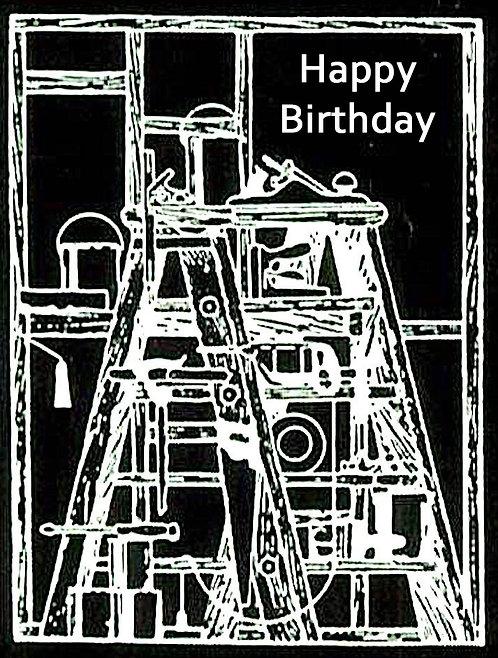 Birthday Greeting Card For a Carpenter Mr Fixit Handyman