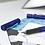 Thumbnail: Faber-Castell Grip 2011 Fountain Pen Blue Barrel