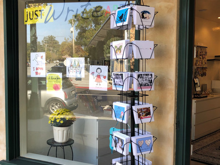 Just Write Arts' Los Gatos Store is Now Open
