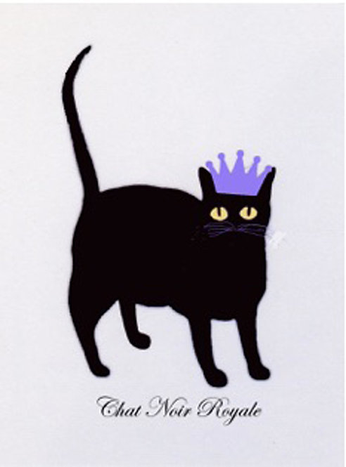 Greeting Card - Chat Noir