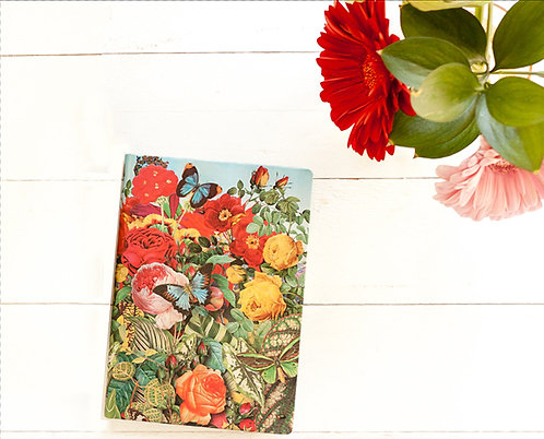 Butterfly Garden Nature Montages Midi Journal - Paperblanks