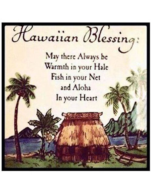 Greeting Card - Hawaiian Blessing