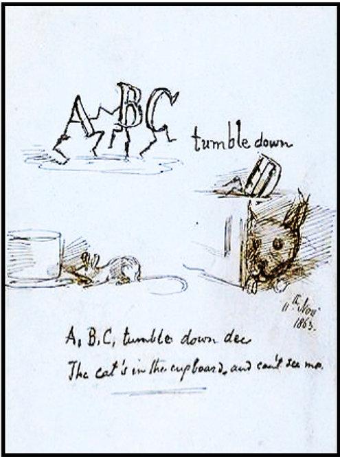 Greeting Card - ABC Tumble Down D