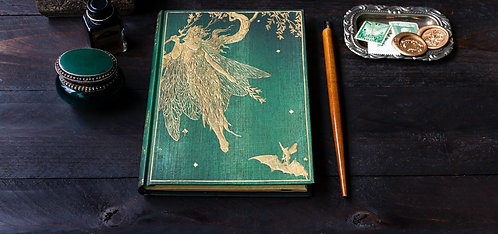 Lang's Olive Fairy Book Journal (2 sizes) - Paperblanks