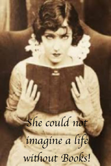 Greeting Card - She Could Not Imagine a Life Without Books