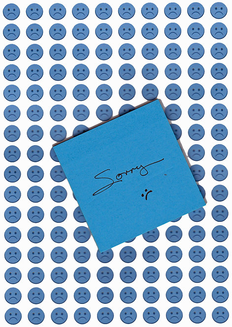 SORRY Greeting Card - When you need to say SORRY