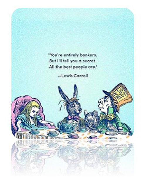 Greeting Card - You're Entirely Bonkers