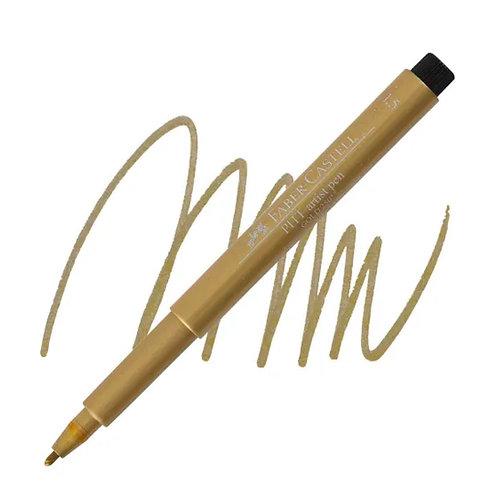 Faber-Castell Pitt Artist Pen® Metallic Gold