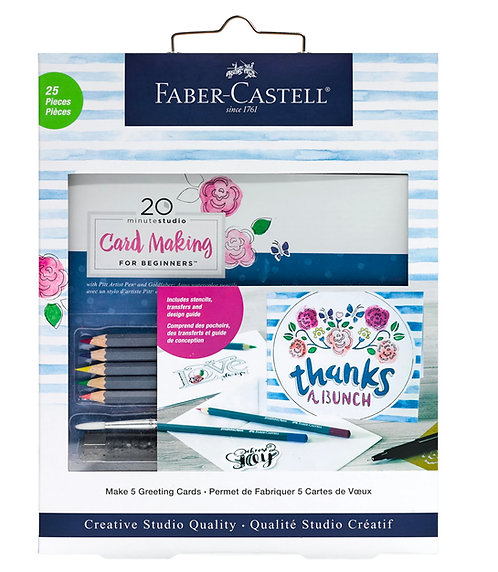 Faber-Castell Creative Studio Card Making Kit for Beginners