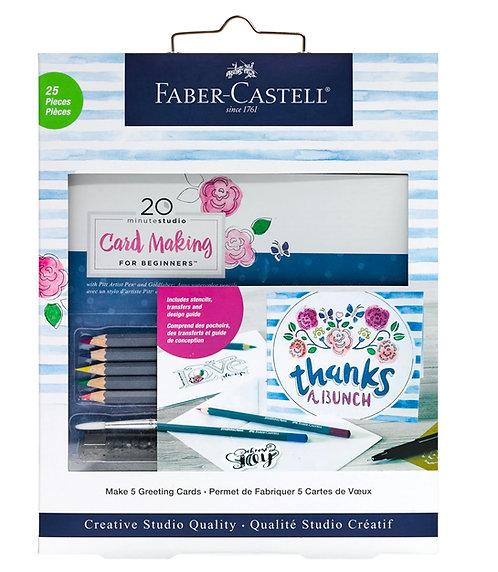 Faber-Castell Creative Studio Card Making Kit for Beginners