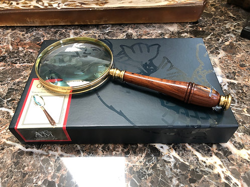 Bronzed Magnifier Magnifying Glass from Authentic Models – AC099