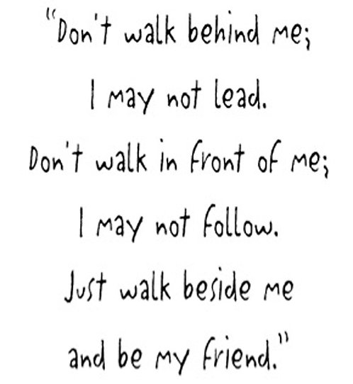 Greeting Card - Be My Friend