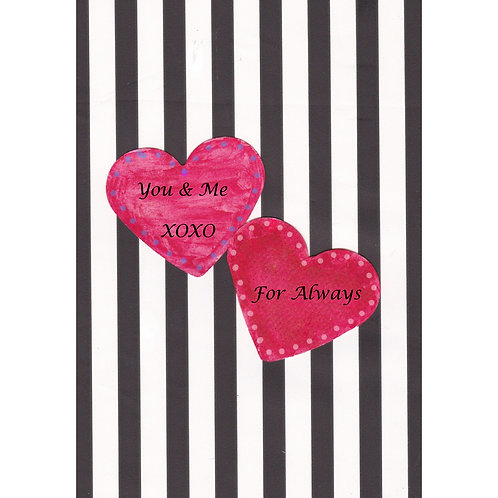 Valentine/Love Greeting Card - You & Me