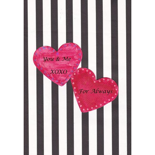 Valentine/Love Greeting Card - You & Me