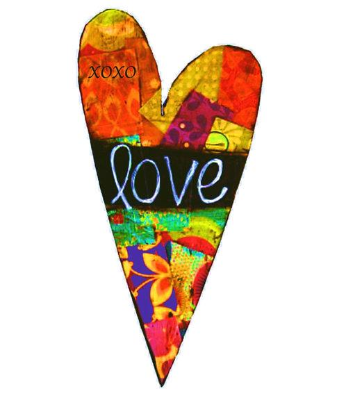Valentine Greeting Card - Love Heart
